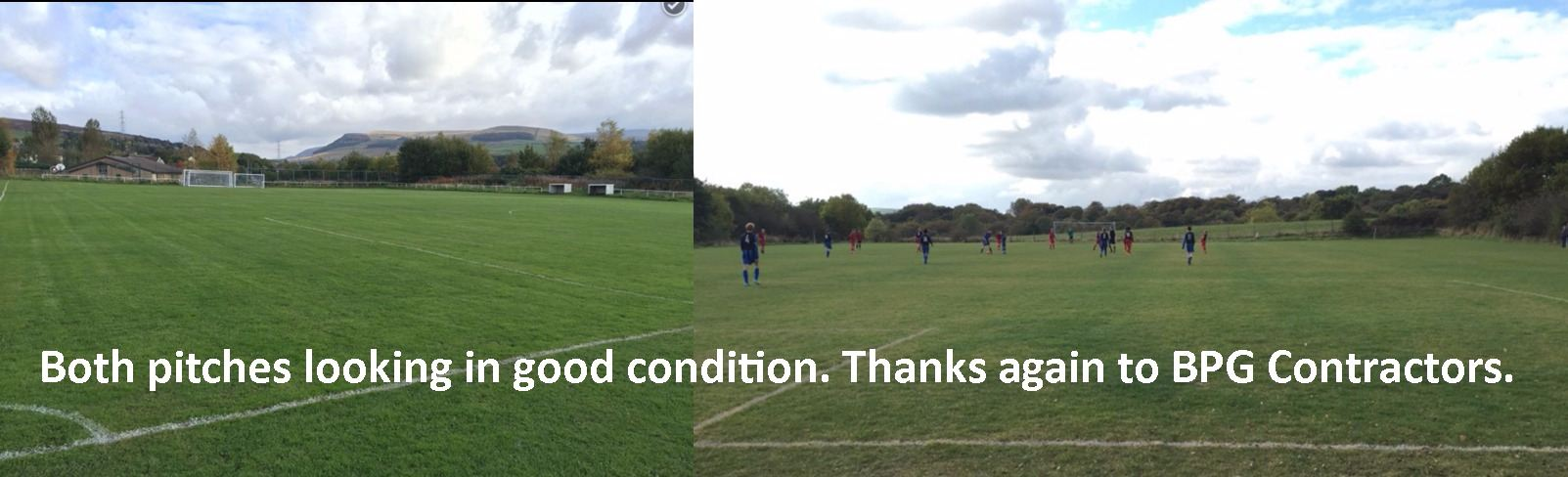 pitches in good condition