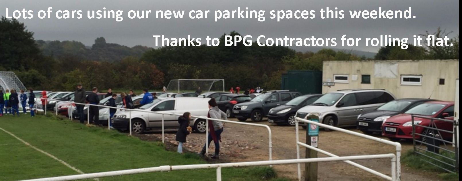 car park being used