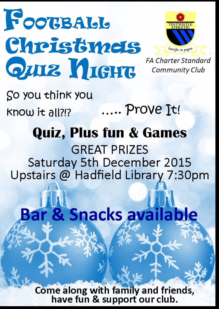 quiz night advert