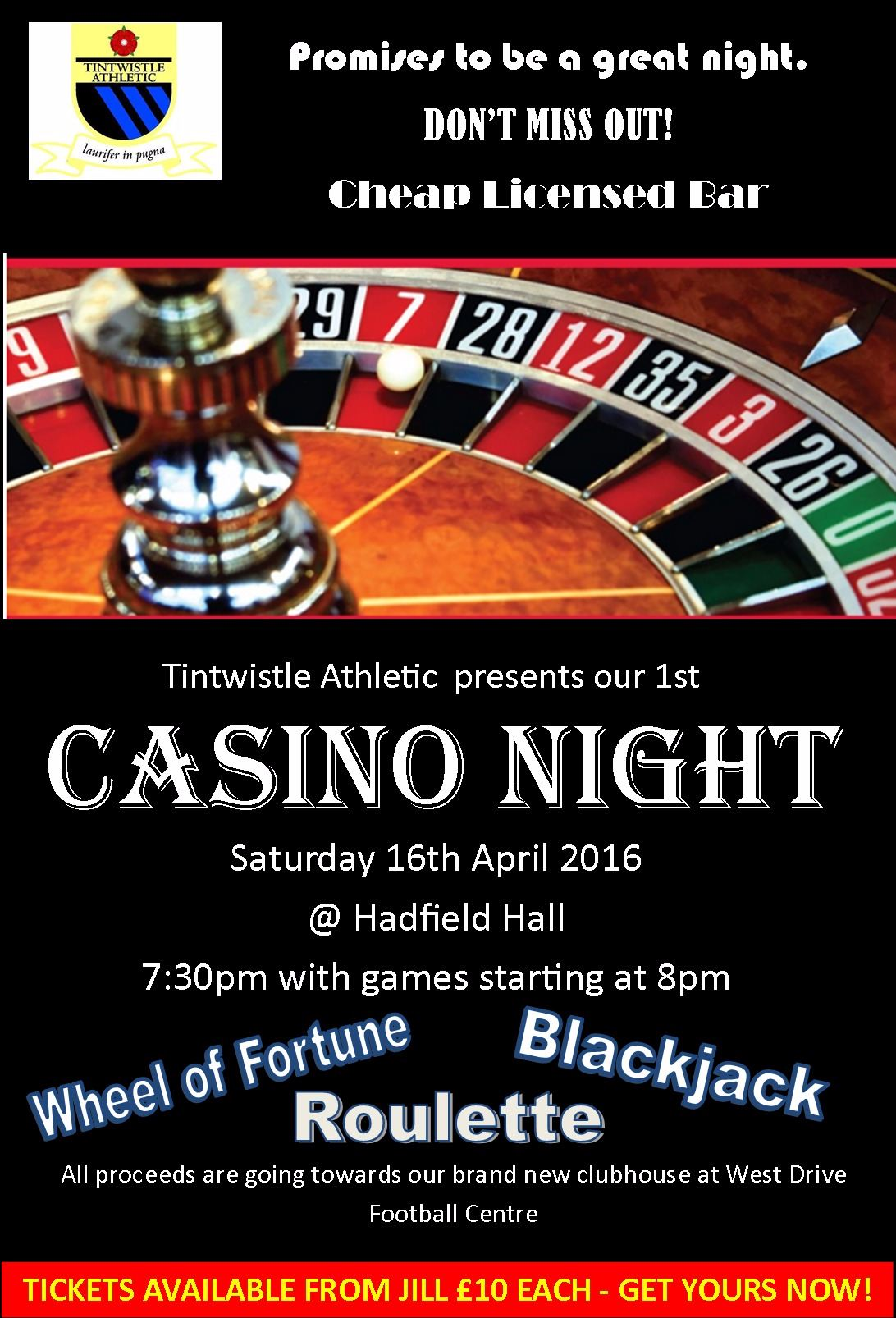 casino night poster