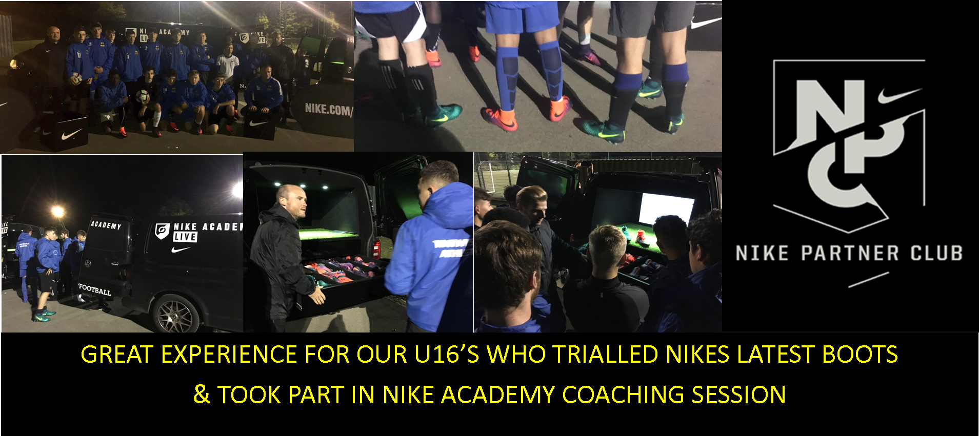 nike partner boot trial