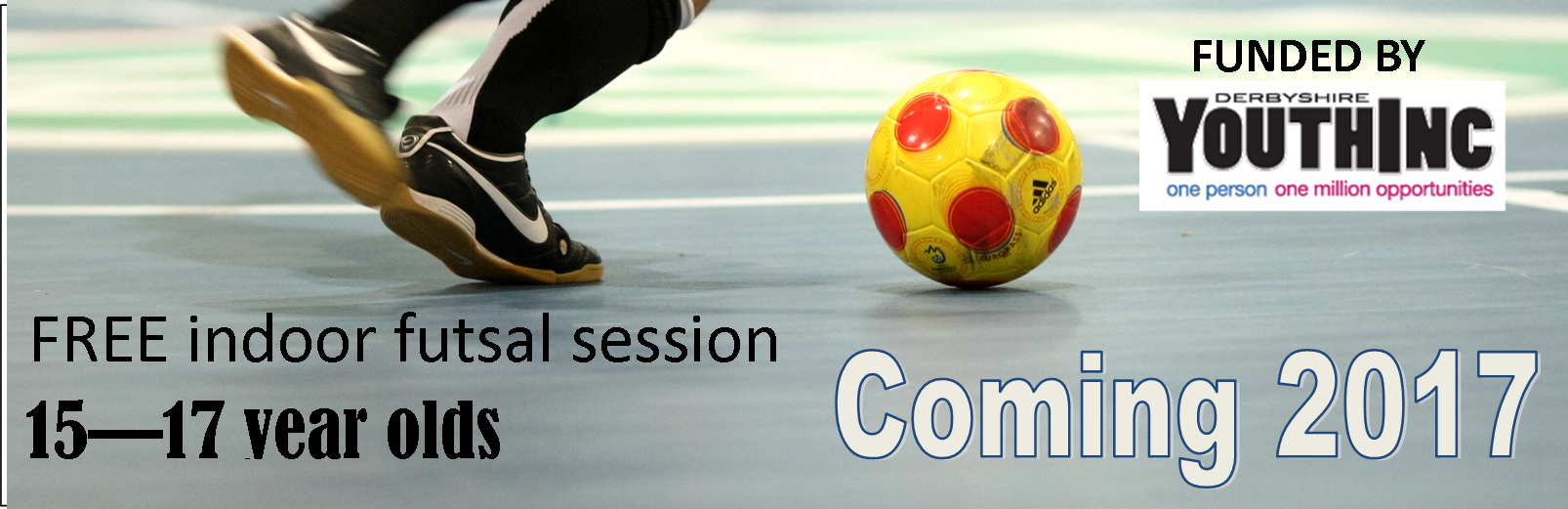 15-17 year old futsal session free