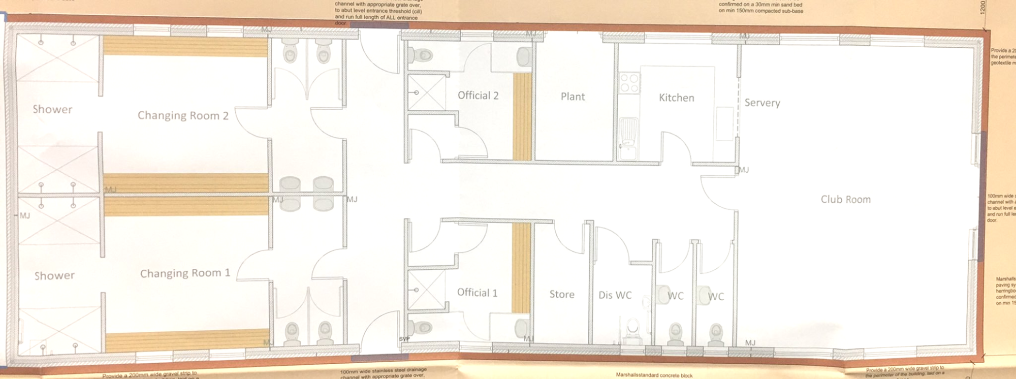 new internal plan for clubhouse