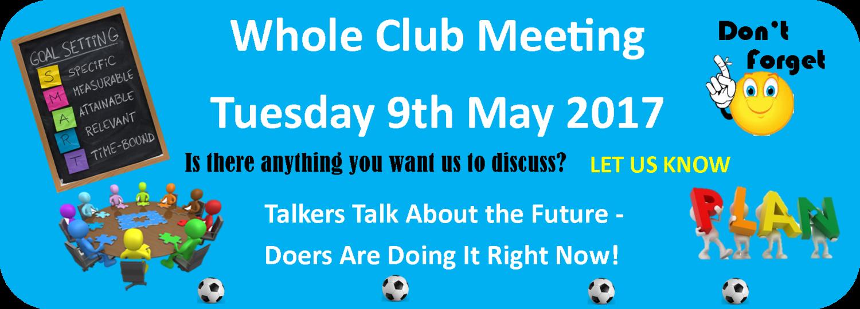 full club meeting may 2017