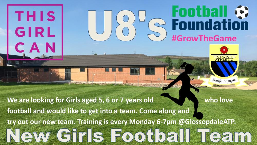 new u8s girls team
