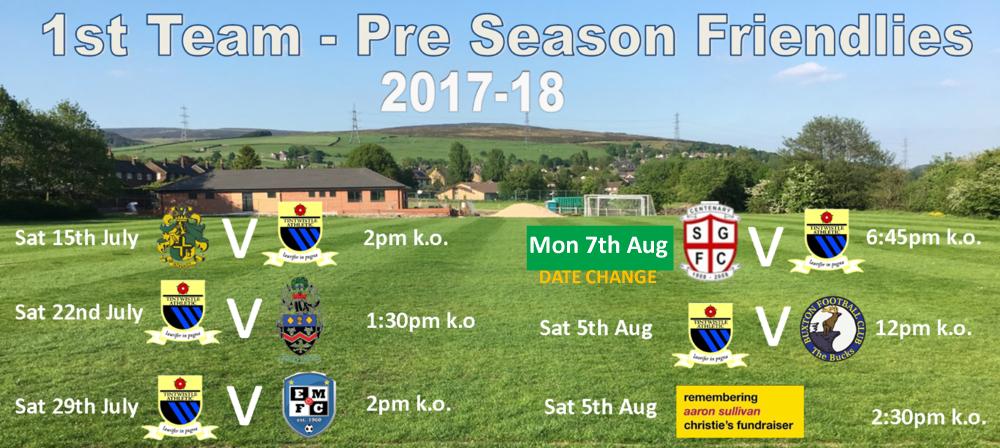 open age pre season friendlies new dates