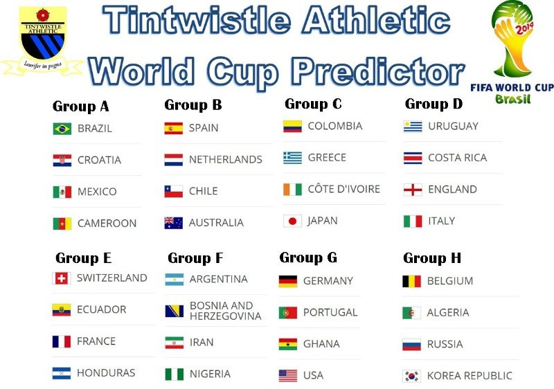 world cup predictor groups
