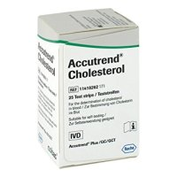 Accutrend® Cholesterol Strips PK 25
