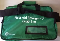 Emergency First Aid Grab Bag