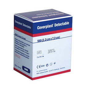 Coverplast 2.2cm x 7.2cm Pack 100