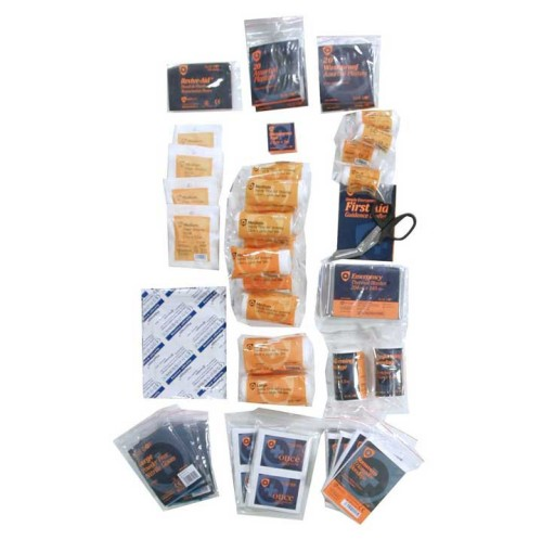 BS- 8599-1 Compliant. First Aid Refill Pack