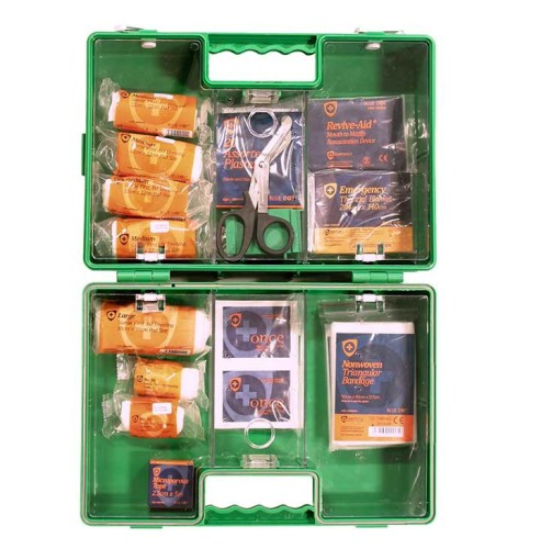 Deluxe Box. BS8599-1: 2019 Workplace Compliant First Aid Kit Complete