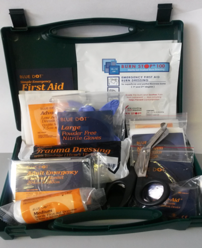 BS 8599-1: 2019 Travel First Aid Kit