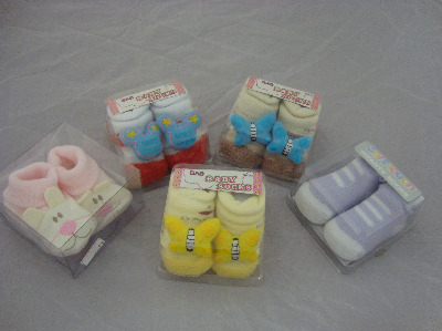 Selection of baby socks