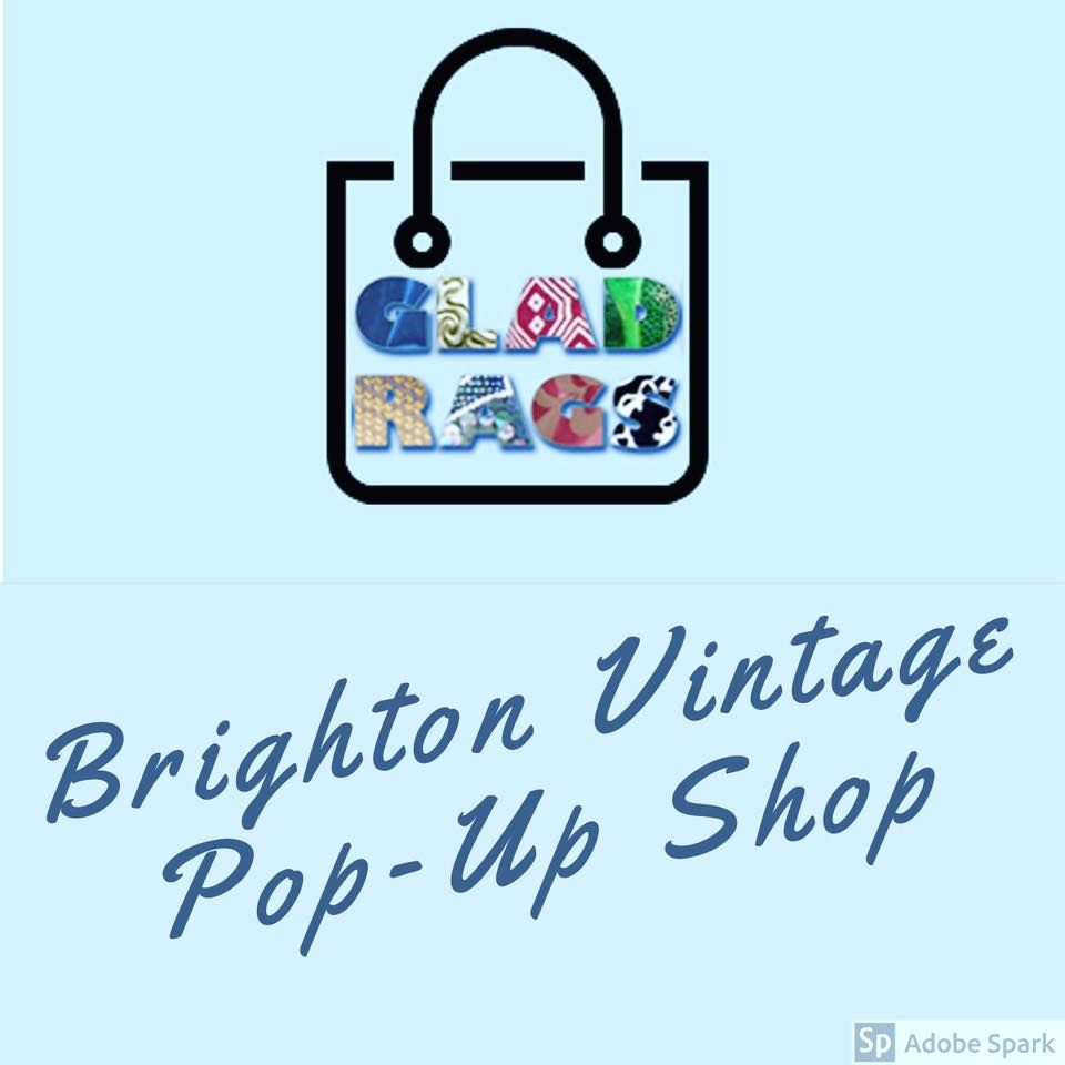 Text : Brighton Vintage Pop-Up Shop