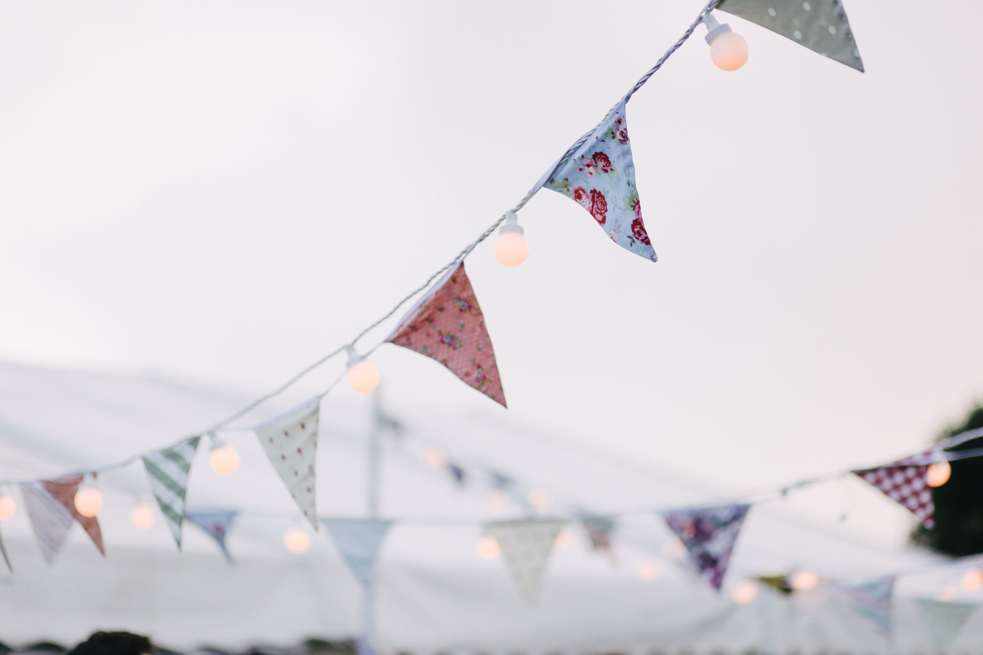bUNTING AND FESTOON LIGHTS