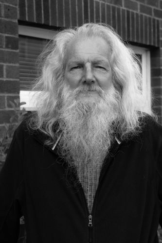 Street portrait 'Gandalf' by Iain Capie