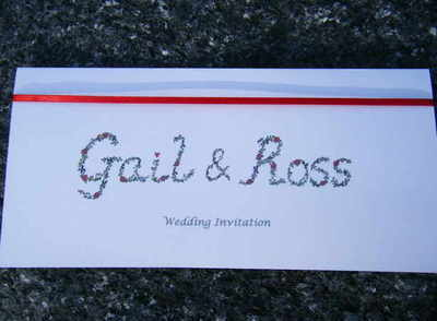 Wedding Stationery Floral - Invite