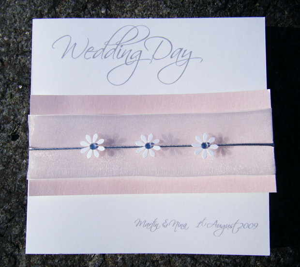 Wedding Card Daisy