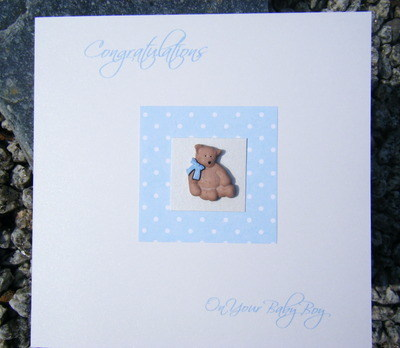 Baby Card - Teddy