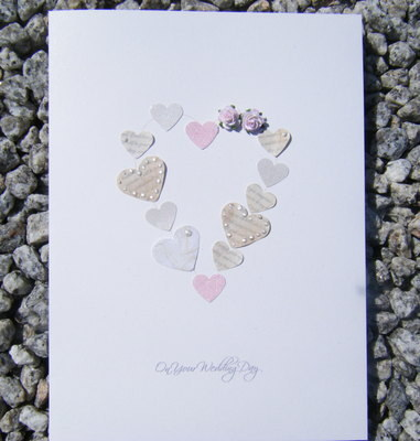 Wedding Card - Vintage Heart