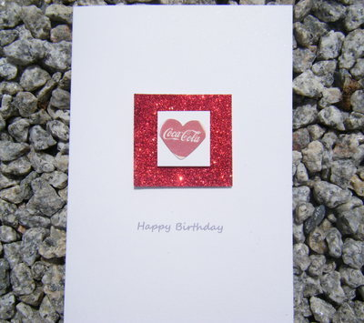 Birthday Card - I Heart Coke