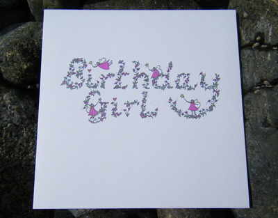 Birthday Card - Birthday Girl