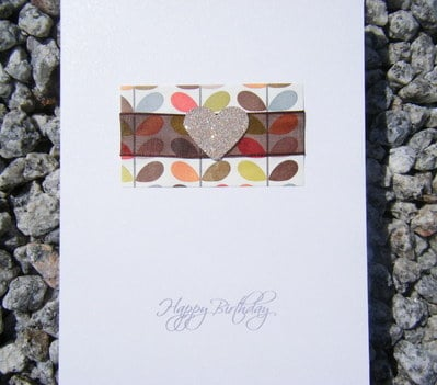Birthday Card - Orla Kiely