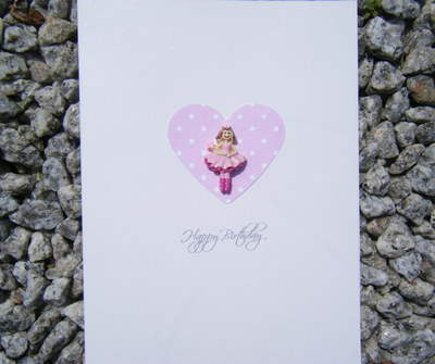 Birthday Card - Ballerina