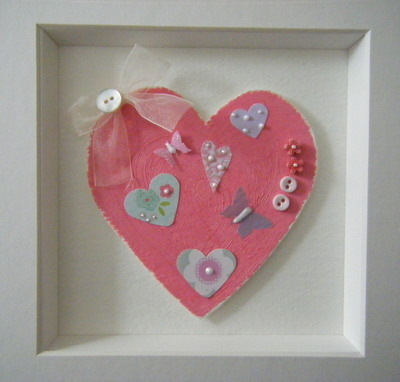 Picture -Painted Heart Picture