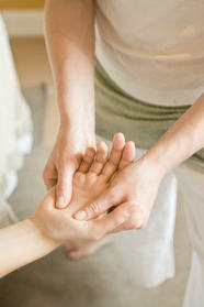 hand opening