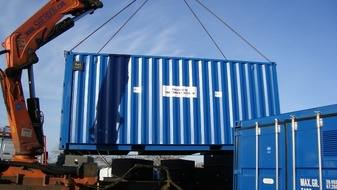 100 person container module sewage treatment plant