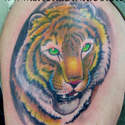"Sacred Inkâ""¢ Colour Work  Tiger"
