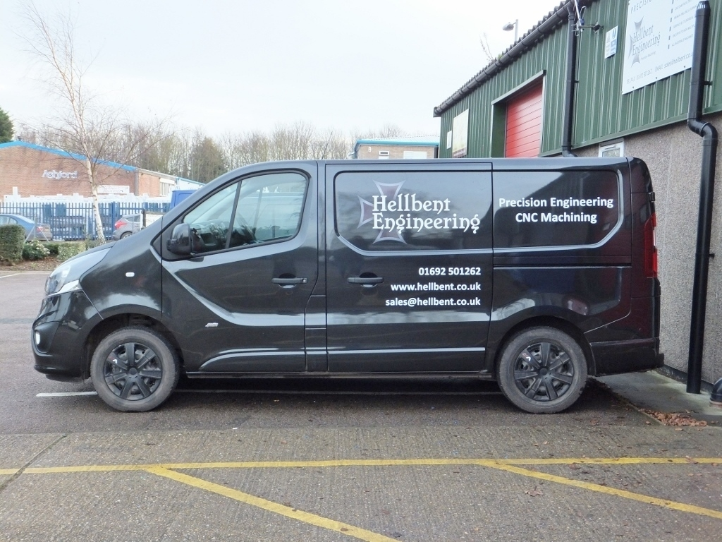 Hellbent Engineering Vivaro Van