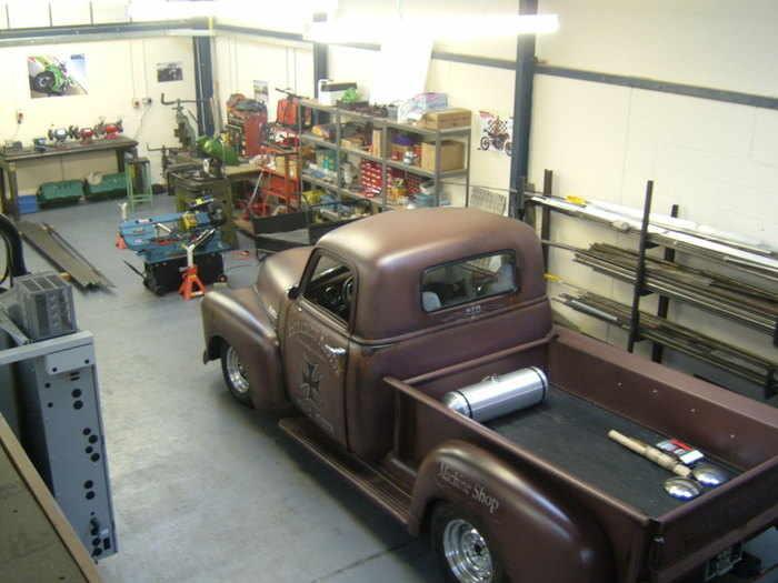 Hellbent 1949 Chevy 20