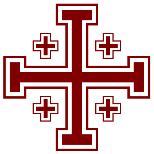 Hellbent Logo Jerusalem Cross
