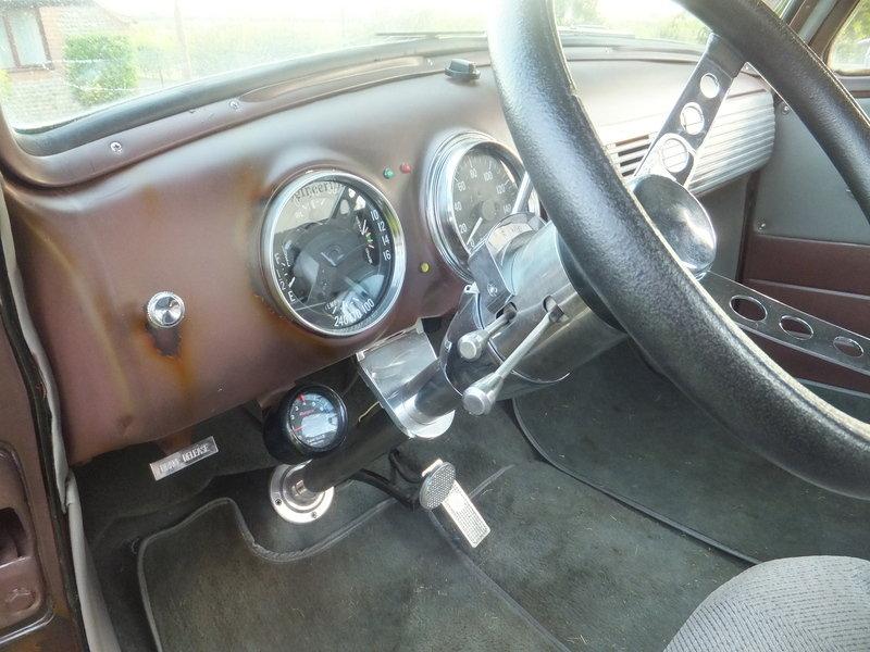 Hellbent Chevy 1949 interior