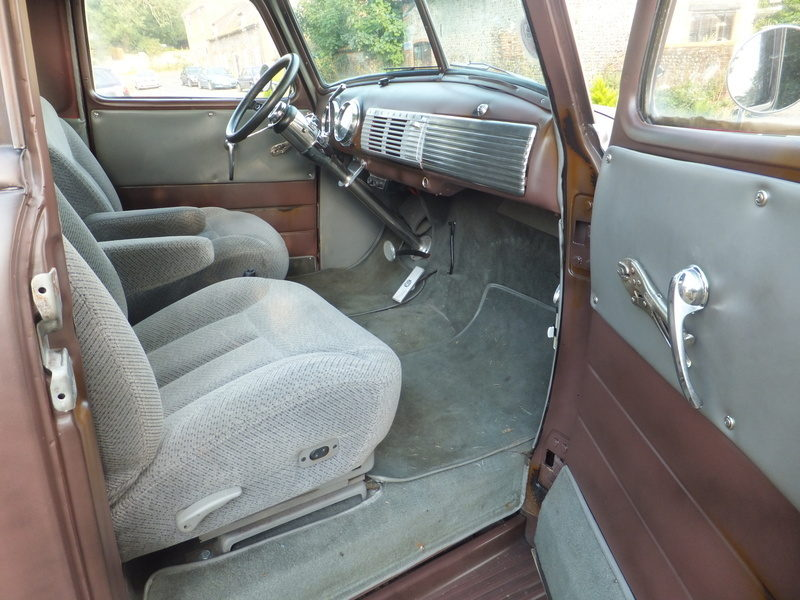 Hellbent Chevy interior 3