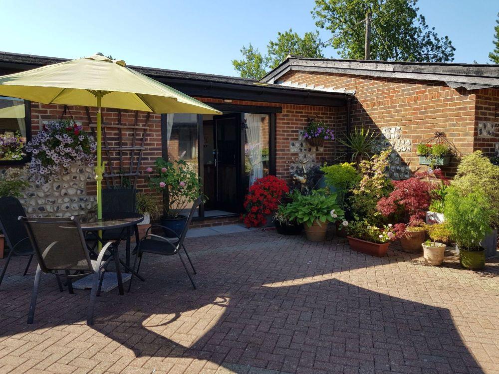 Oak courtyard