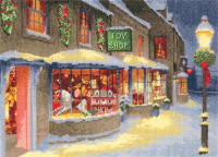 Christmas Toy Shop - John Clayton