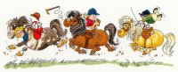 Horse Play - Thelwell Cross Stitch