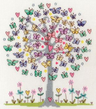 Love Spring Cross Stitch - Bothy Threads
