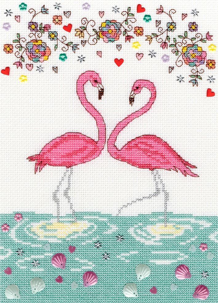 Love Flamingo - Bothy Threads