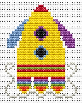 Rocket Cross Stitch - Sew Simple