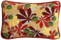 Ecru Conkers Lumbar Tapestry Kit