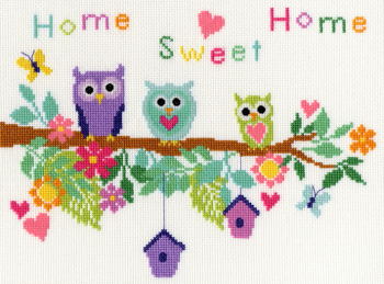 Owl Bouquet - Bothy Threads Cross Stitch