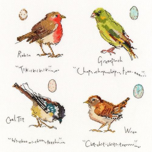 Garden Birds 1 - Bothy Threads