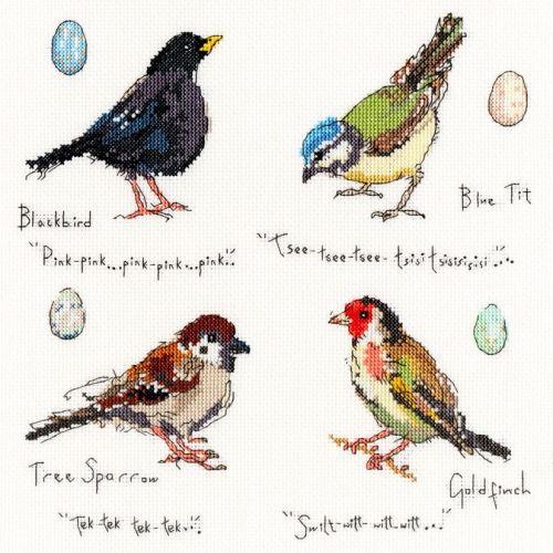 Garden Birds 2 - Bothy Threads