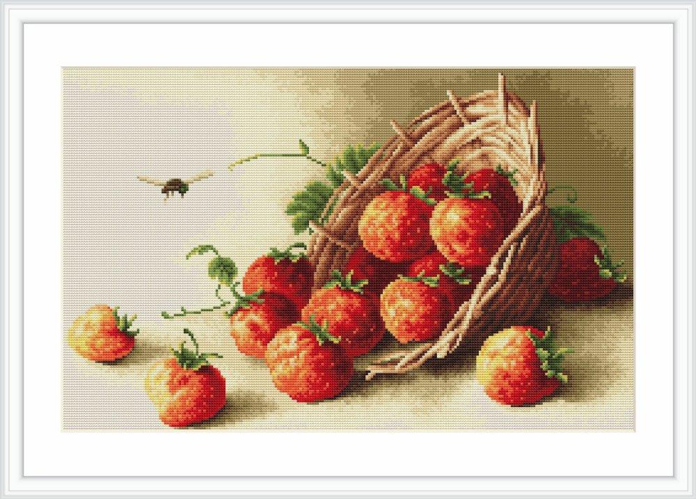 Basket of Strawberries -  Luca S