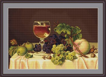 Still Life with Wine Glass